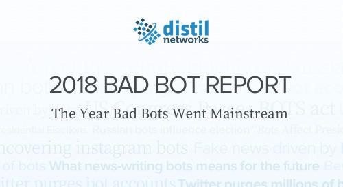 2018 Bad Bot Report