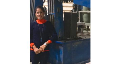 2017 WFiT Scholarship Recipient: Jenny Calderon