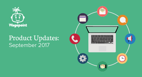 Product Updates - September 2017