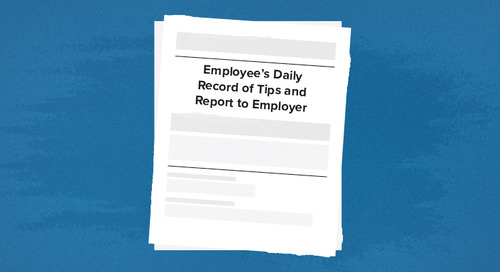 Everything You Need to Know About IRS Tip Reporting