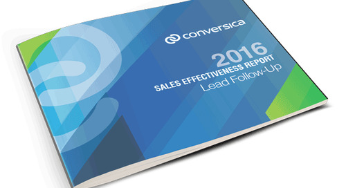2016 Sales Effectiveness Report - 4Ps of Lead Follow-Up