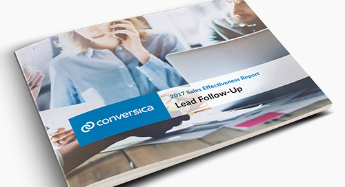 2017 Sales Effectiveness Report - the 4 Ps of Lead Follow-Up