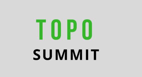 March 20-21, 2018: TOPO Summit