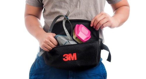 Keeping 3M™ Reusable Respirators close at hand