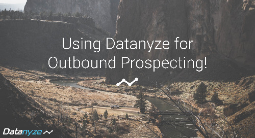 How to Outbound Prospect Like a Datanyze Power User