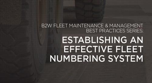 B2W Maintenance Best Practices 3