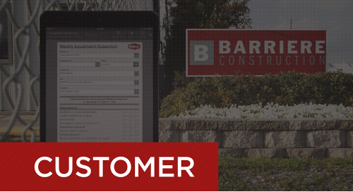 Barriere Construction - Paperless Equipment Inspections