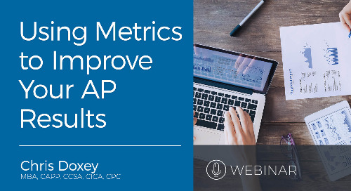 Webinar: What Metrics You Should Use to Improve AP Results