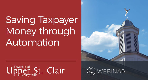 Webinar: Saving Taxpayer Money Through Automation