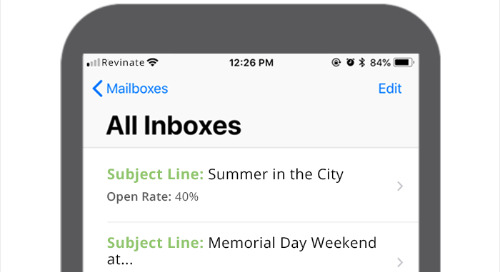 Top Hotel Marketing Subject Lines for May 2018 - North America
