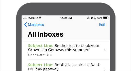 Top Hotel Marketing Subject Lines for May 2018 – EMEA