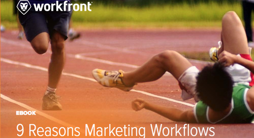 9 Reasons Marketing Workflows Trip at the Finish Line