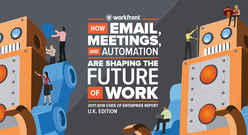 How Email, Meetings & Automation Are Shaping the Future of Work in the UK: 2017-2018 State of Enterprise Work Report