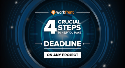 4 Crucial Steps to Help You Make Deadline on Any Project
