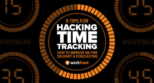 5 Tips for Hacking Time Tracking: How to Improve On-Time Delivery & Forecasting