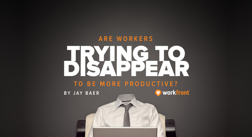 Are Workers Trying to Disappear to be More Productive?