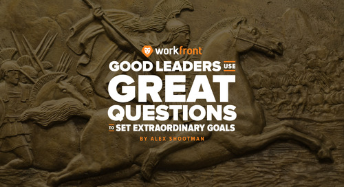 Good Leaders Use Great Questions to Set Extraordinary Goals