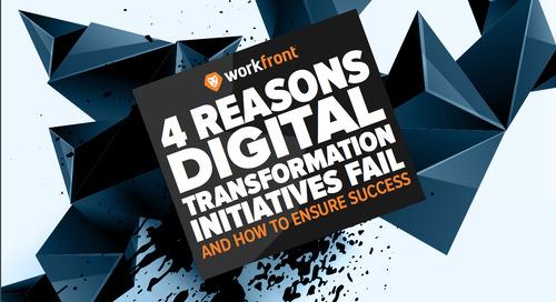 4 Reasons Digital Transformation Initiatives Fail