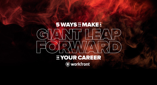 5 Ways to Make a Giant Leap Forward in Your Career