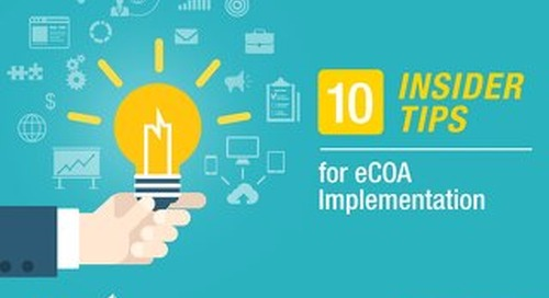 10 Insider Tips for eCOA Implementation