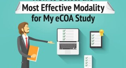 How to Select the Most Effective Modality for My eCOA Study