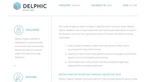 Data-Driven Decisions at Delphic Digital