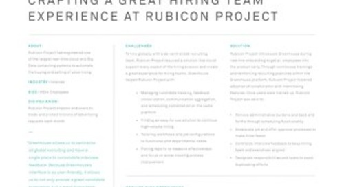 Case Study - Rubicon Project