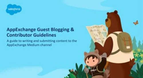 AppExchange Contributor Guidelines