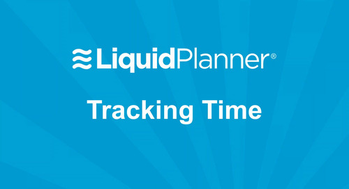 LiquidPlanner Time Tracking