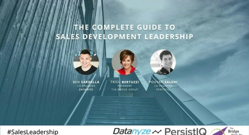 [Webinar] The Complete Guide to Sales Development Leadership