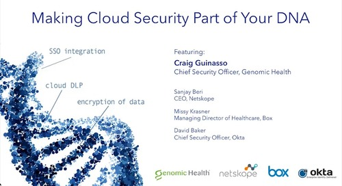Making Cloud Security Part of Your DNA