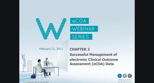 Successful Management of eCOA Data