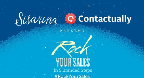 Rock Your Sales in Five Branded Steps