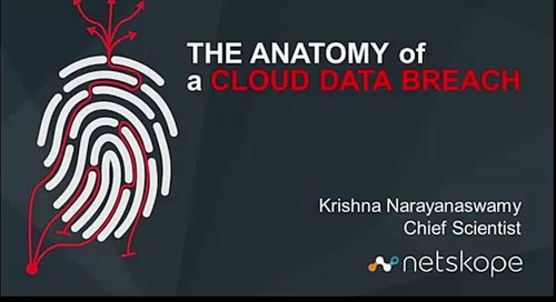 Webinar: The Anatomy of a Cloud Data Breach