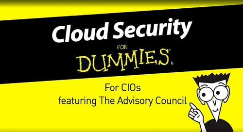 CIO Special Edition: Cloud Security for Dummies Webinar