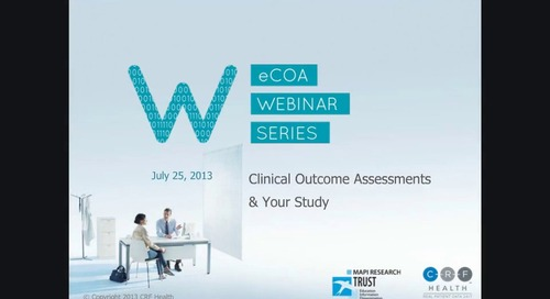 Clinical Outcome Assessments and Your Study