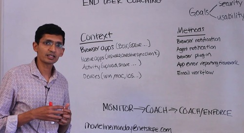 Movie Line Monday - Cloud Security Policies: User Coaching Best Practices
