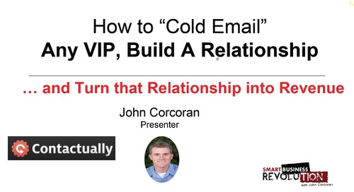 "How To ""Cold Email"" Any VIP"