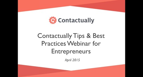 Best Practices for Entrepreneurs — Deborah & Tony