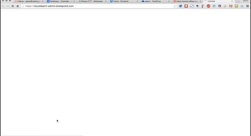 Demo - Netskope for Office 365 Admin Controls