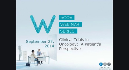 Clinical Trials in Oncology: A Patient's Perspective