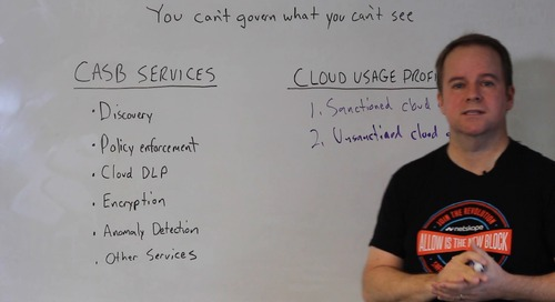 Movie Line Monday - You Can't Govern What You Can't See: 5 Cloud Usage Profiles Your CASB Should Cover