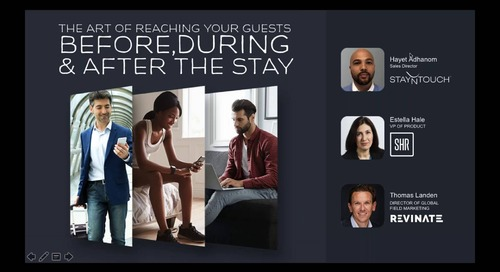 The Art of Reaching your Guests Before, During and After the Stay