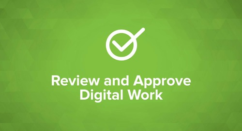 Review and Approve Digital Work