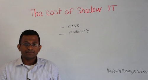 Movie Line Monday —  The Cost of Shadow IT
