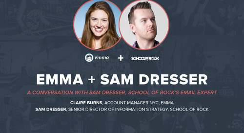 A conversation with Sam Dresser, School of Rock's email expert