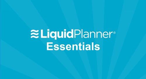 LiquidPlanner Essentials Webinar
