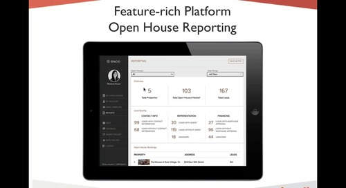Get MORE Business from Your Open Houses with LESS Effort with Spacio