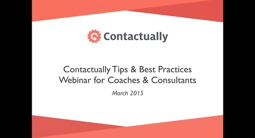Best Practices for Coaches & Consultants — Les, Helena, & Carol