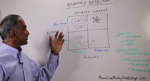 Movie Line Monday — Anomaly Detection for Cloud Security - 1 of 2